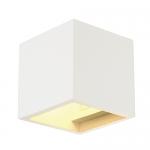 Plaster Cube Wall Light